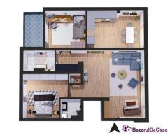 Apartament 3 camere ultramodern | 2 băi | terasă |