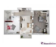 Apartament 2 camere + gradină | Decomandat | Şelimbăr | Comision 0