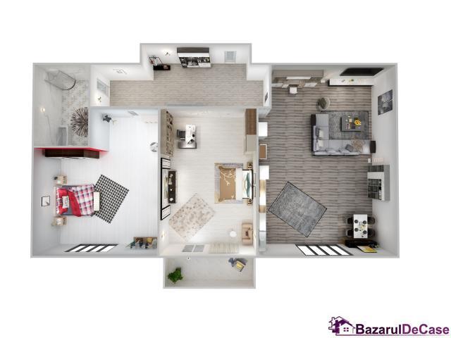 Super preţ! Apartament 2 camere | Etaj 1/ 3 | Decomandat - 1/9