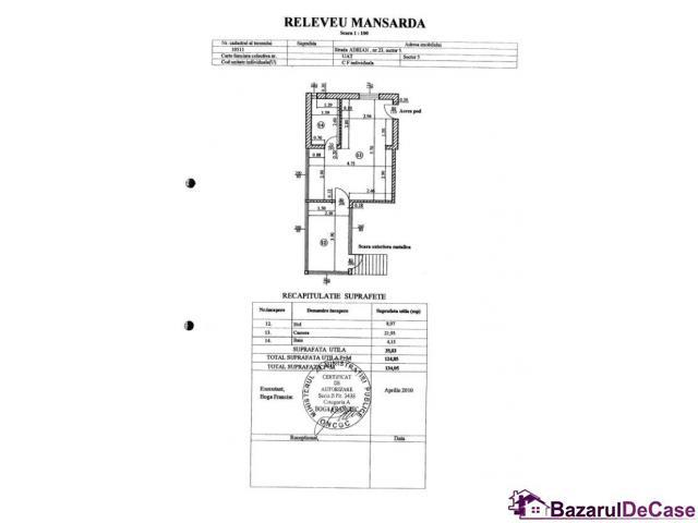 Casa singur curte CENTRAL- Palatul Parlamentului – Hotel Marriot - 4/6