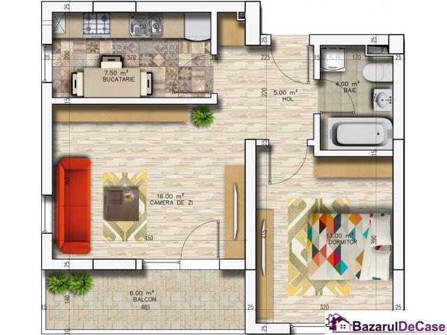 Apartament 2 camere Militari Residence - 2/5