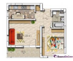 Apartament 2 camere Militari Residence - Imagine 2/5