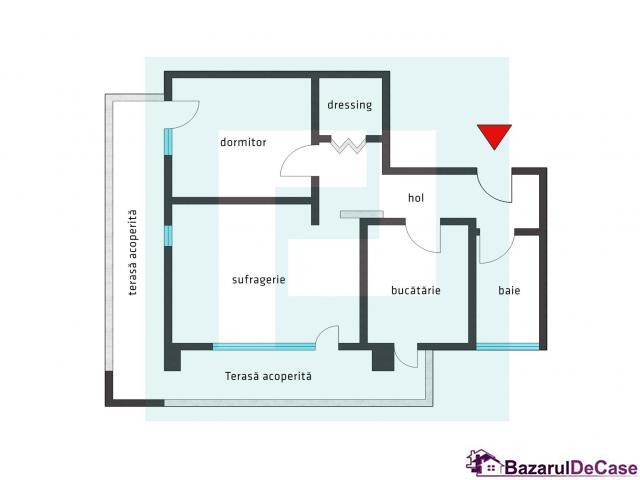 Apartament modern în Micalaca la Urbana - 8/12