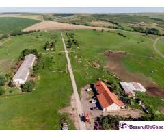 Fermă cu teren 10 hectare în Recaș