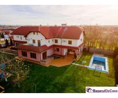 Pensiune*** în Sânmartin, județul Arad