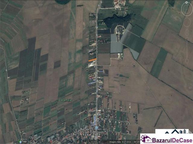 1 Decembrie, ilfov, teren intravilan 3543 mp, 26ml deschidere la DN5 - 3/3