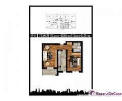 Apartament 2 camere, MILITARI REZERVELOR - Imagine 2/2