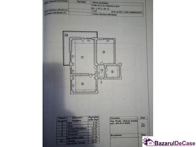 Proprietar vand apartament 3 camere Fundeni New City Residence - 12/12