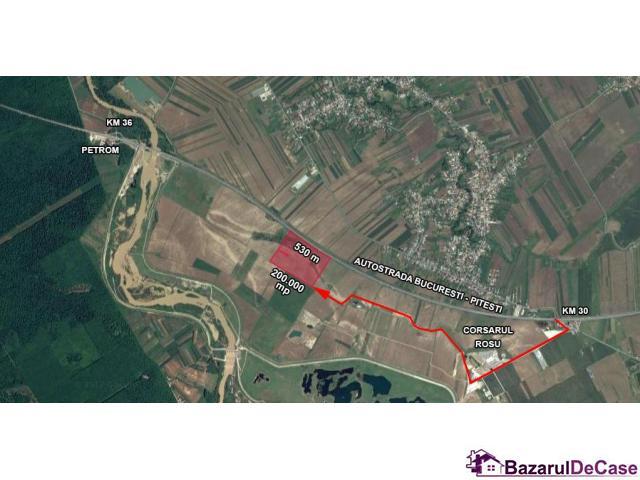 Vanzare teren A1 - Autostrada Bucuresti - Pitesti - 2/4