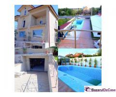 Vila cu piscina Mihailesti - spatiu la strada-toate dotarile -afacere