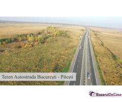 Teren de vanzare A1 - Autostrada Bucuresti - Pitesti