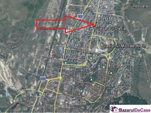 Apartament 3 camere, Bdul Dacia, Hunedoara - 1/1