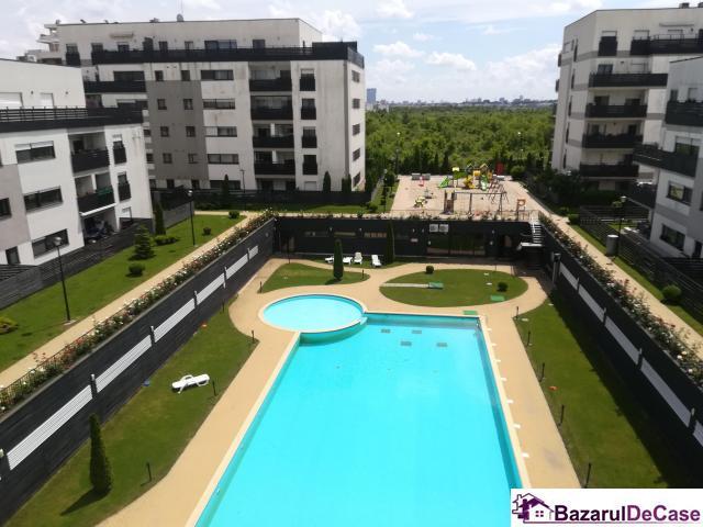 Inchiriere apartament 3 camere Natura Residence, 2 locuri parcare - 1/10