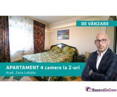 PREȚ REDUS CU 5000 EURO - Apartament cu 4 camere la Z-uri