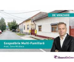 Gospodărie multifamiliala în Micalaca,  Pret REDUS!
