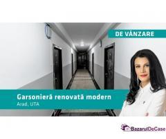 Garsonieră renovată modern în zona UTA